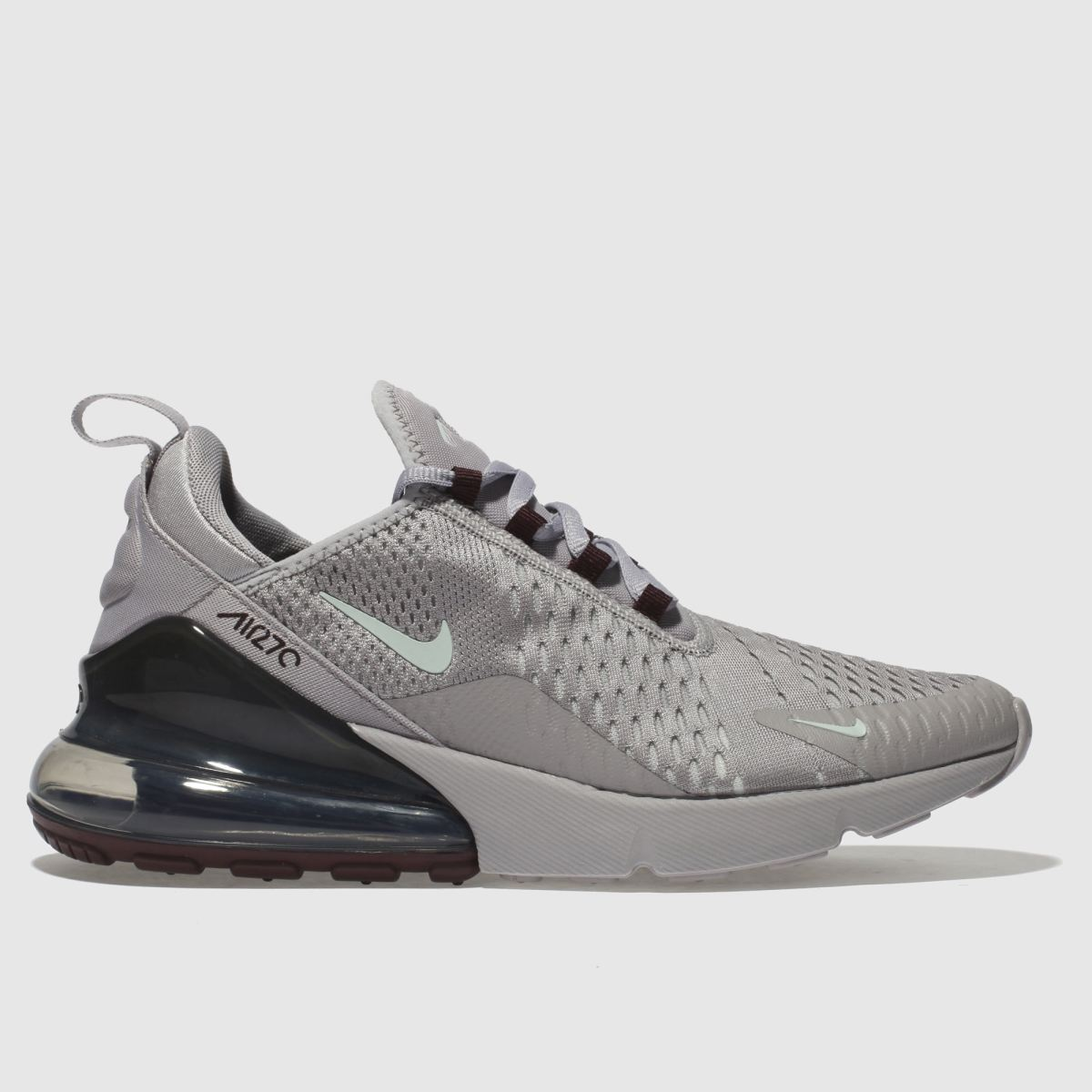 Nike Light Grey Air Max 270 Trainers