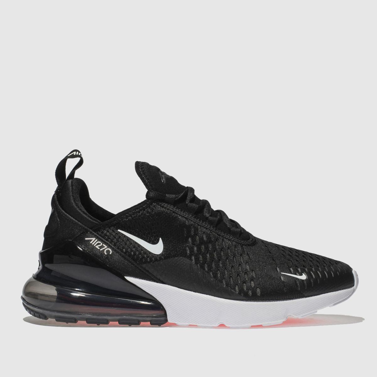 Nike Black Air Max 270 Trainers