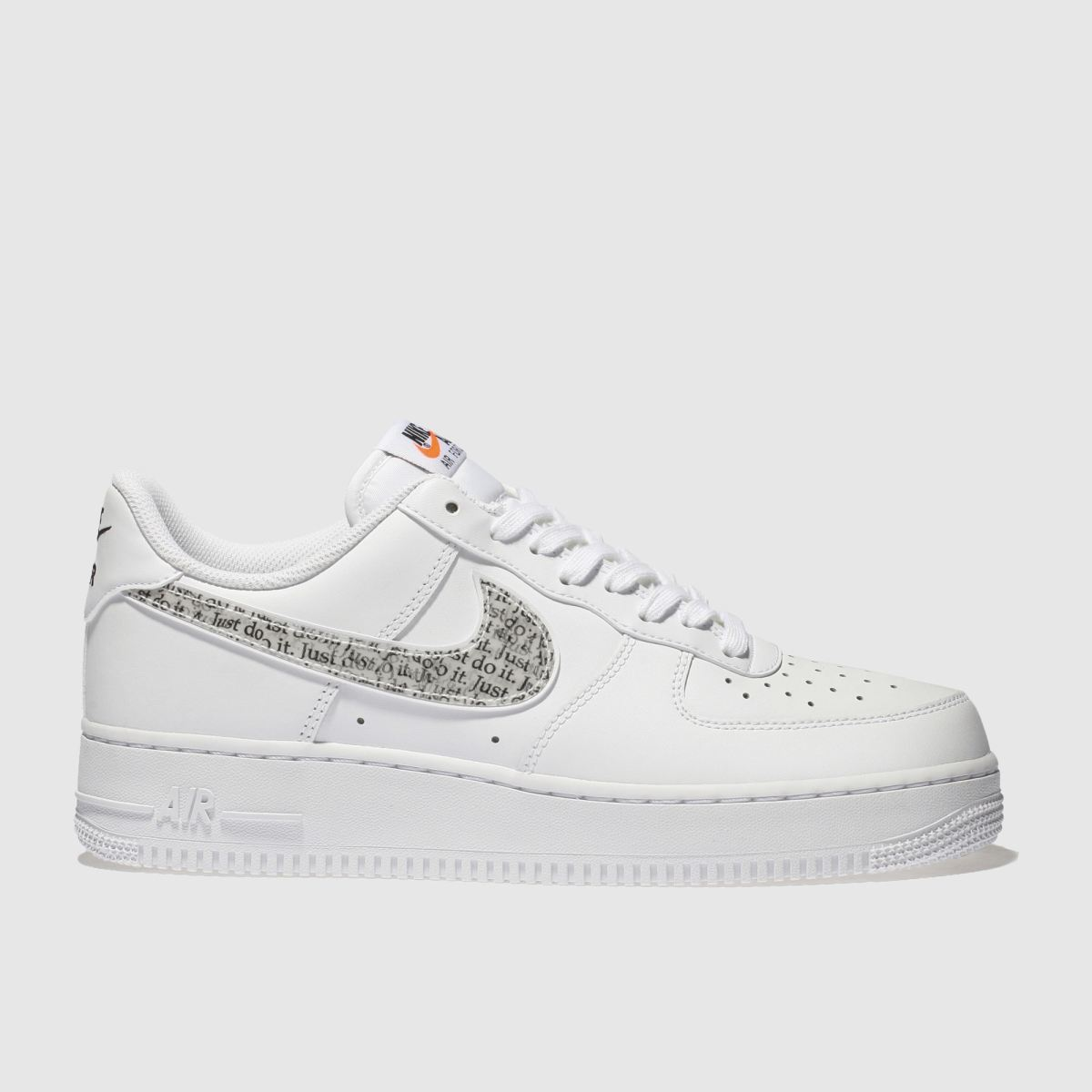 Nike White Air Force 1 07 Lv8 Jdi Trainers