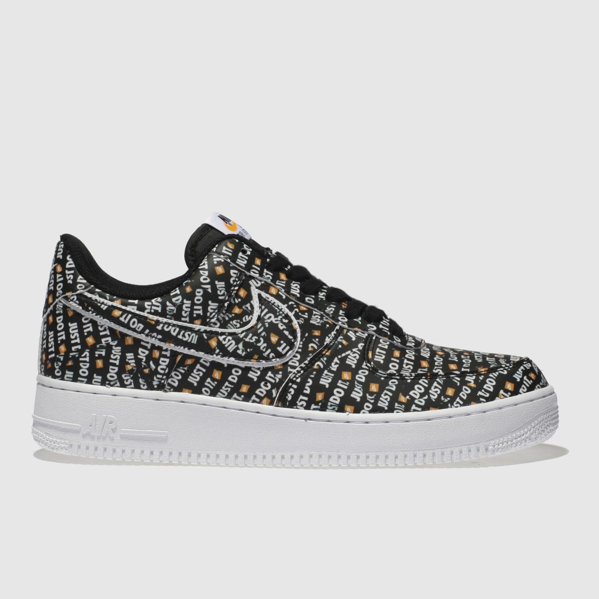 Nike Black & White Air Force 1 07 Jdi Trainers