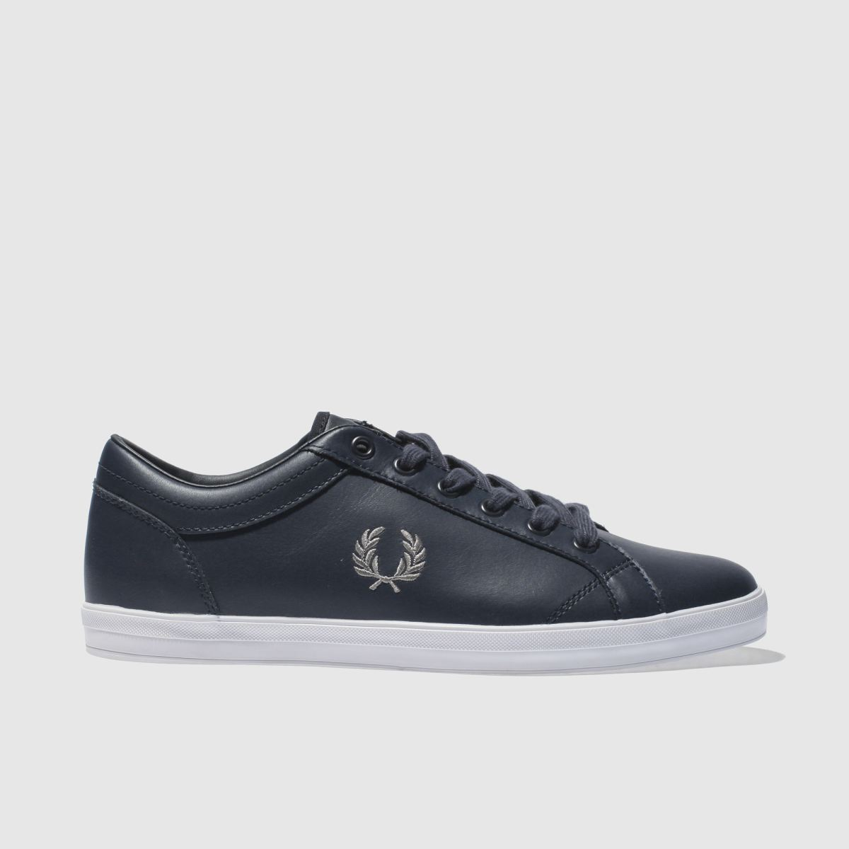 Fred Perry Fred Perry Navy Baseline Pique Trainers