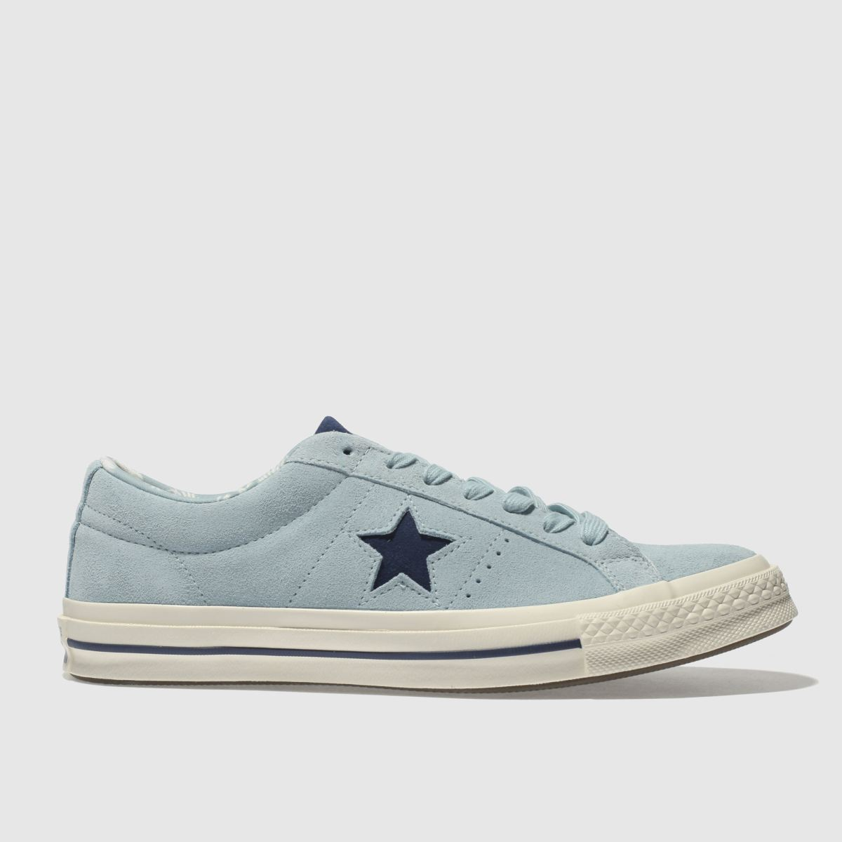 Converse Pale Blue One Star Ox Trainers