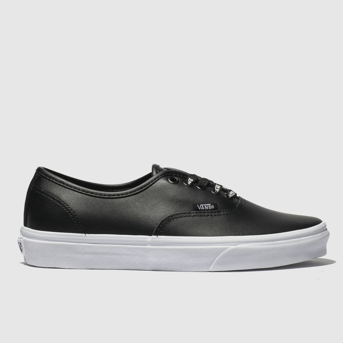 Vans Black Authentic Webbing Trainers