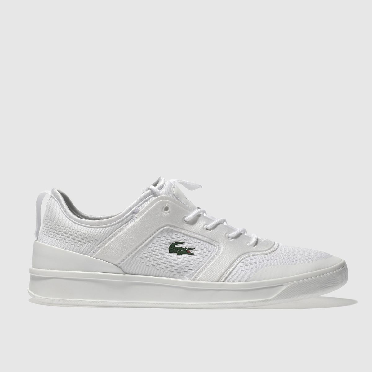 Lacoste White Explorateur Light Trainers