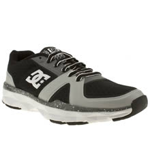 Black & Grey Dc Shoes Unilite Trainer