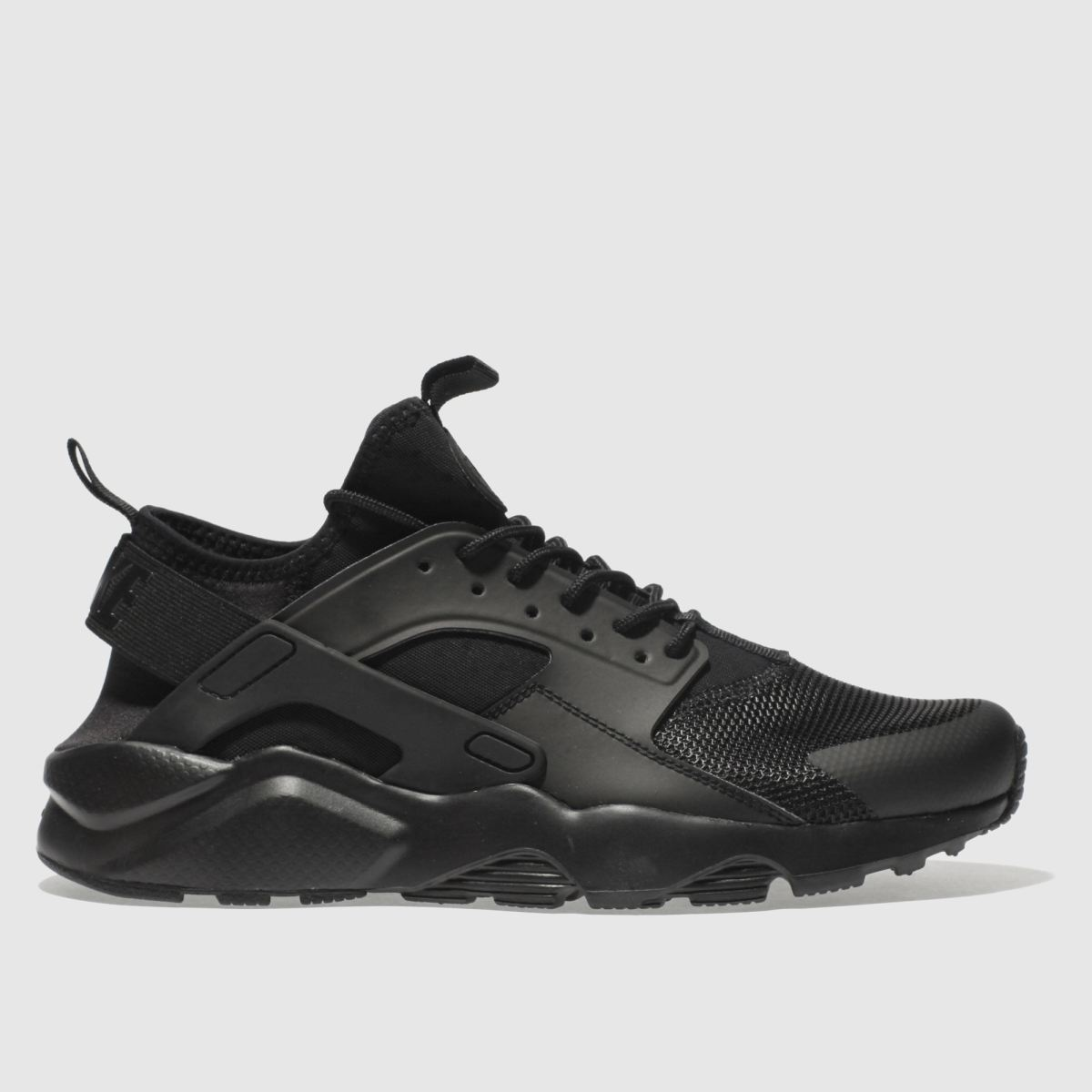 Nike Black Air Huarache Run Ultra Trainers