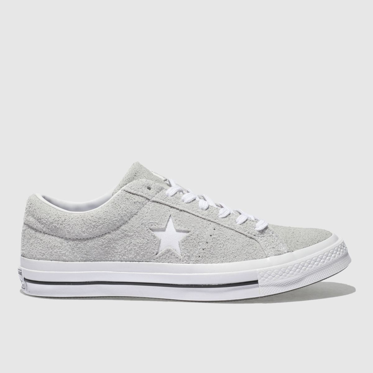 Converse Grey One Star Ox Vintage Suede Trainers