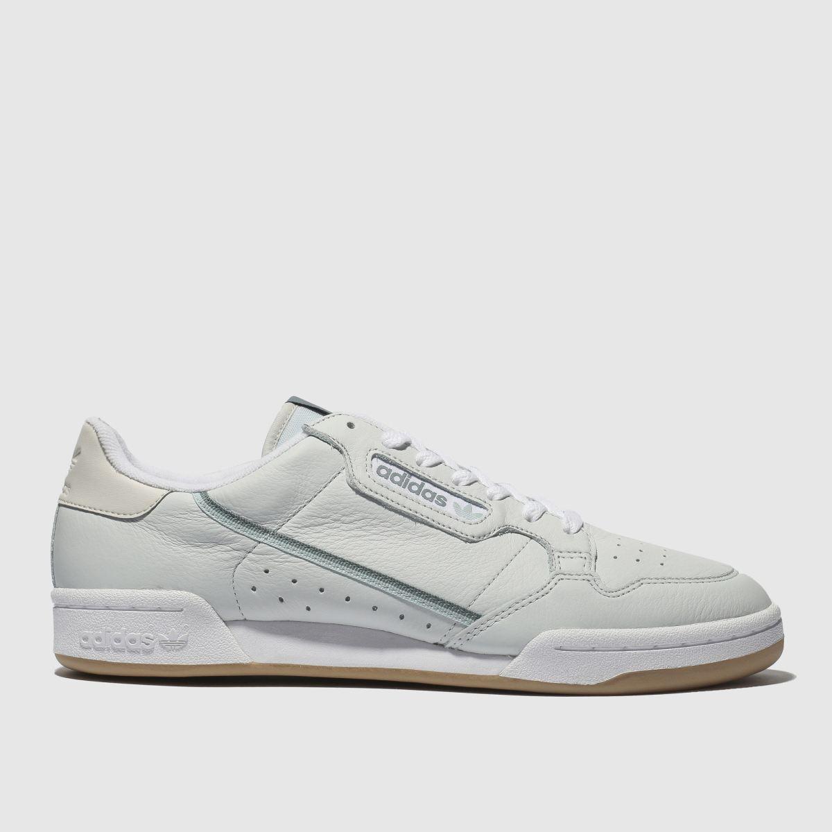 Adidas Grey Continental 80 Trainers