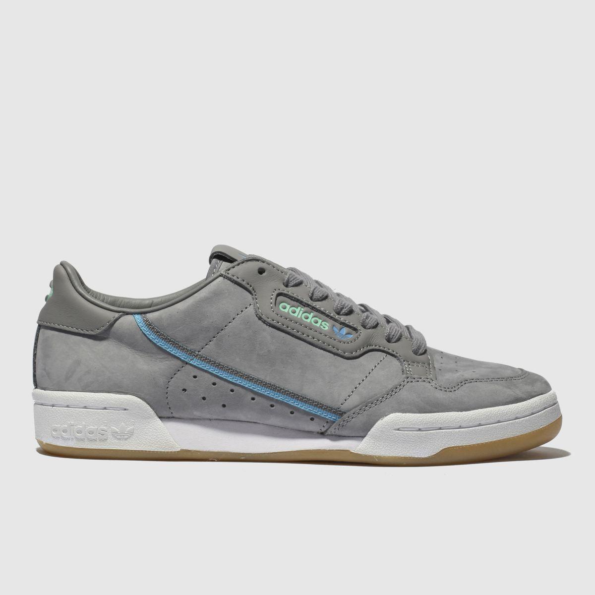 Adidas Dark Grey Continental 80 X Tfl Trainers
