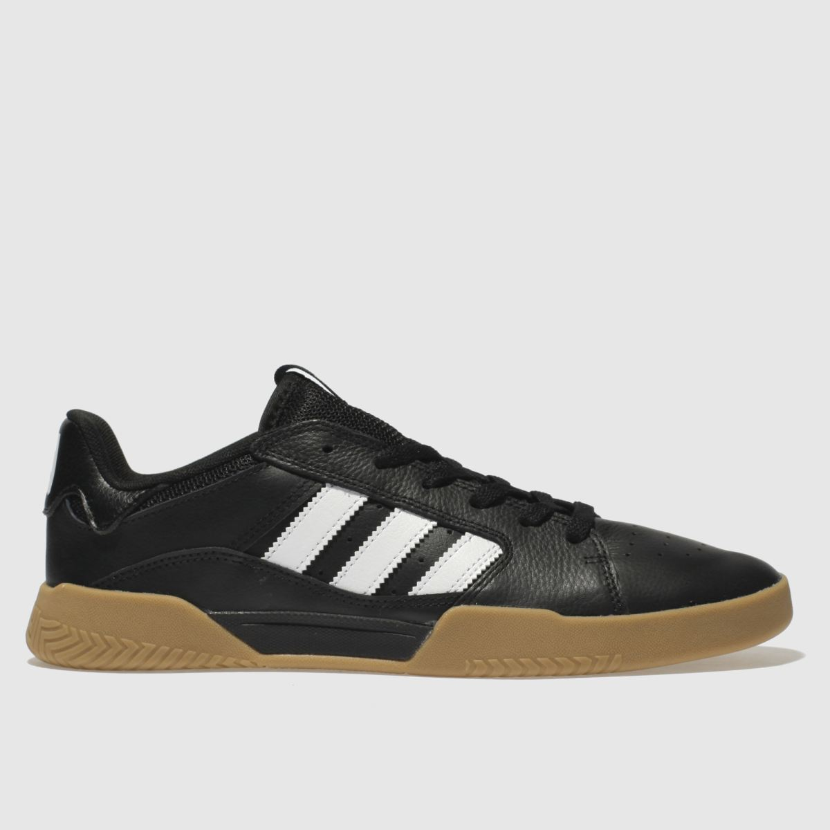 Adidas Skateboarding Black & White Vrx Low Trainers