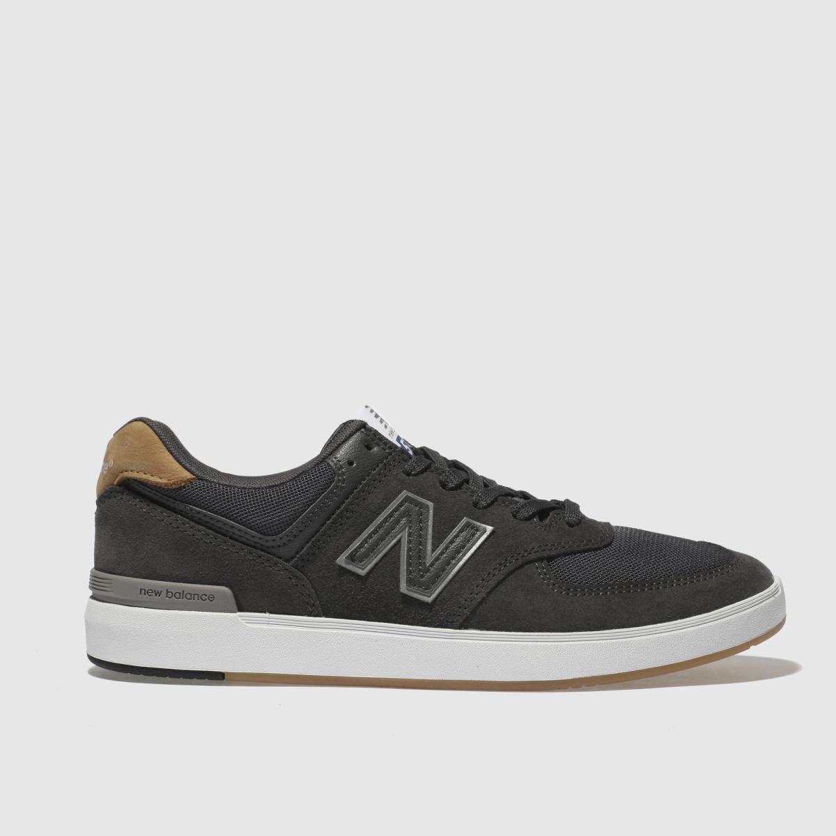 New Balance Dark Grey All Coasts 574 Trainers
