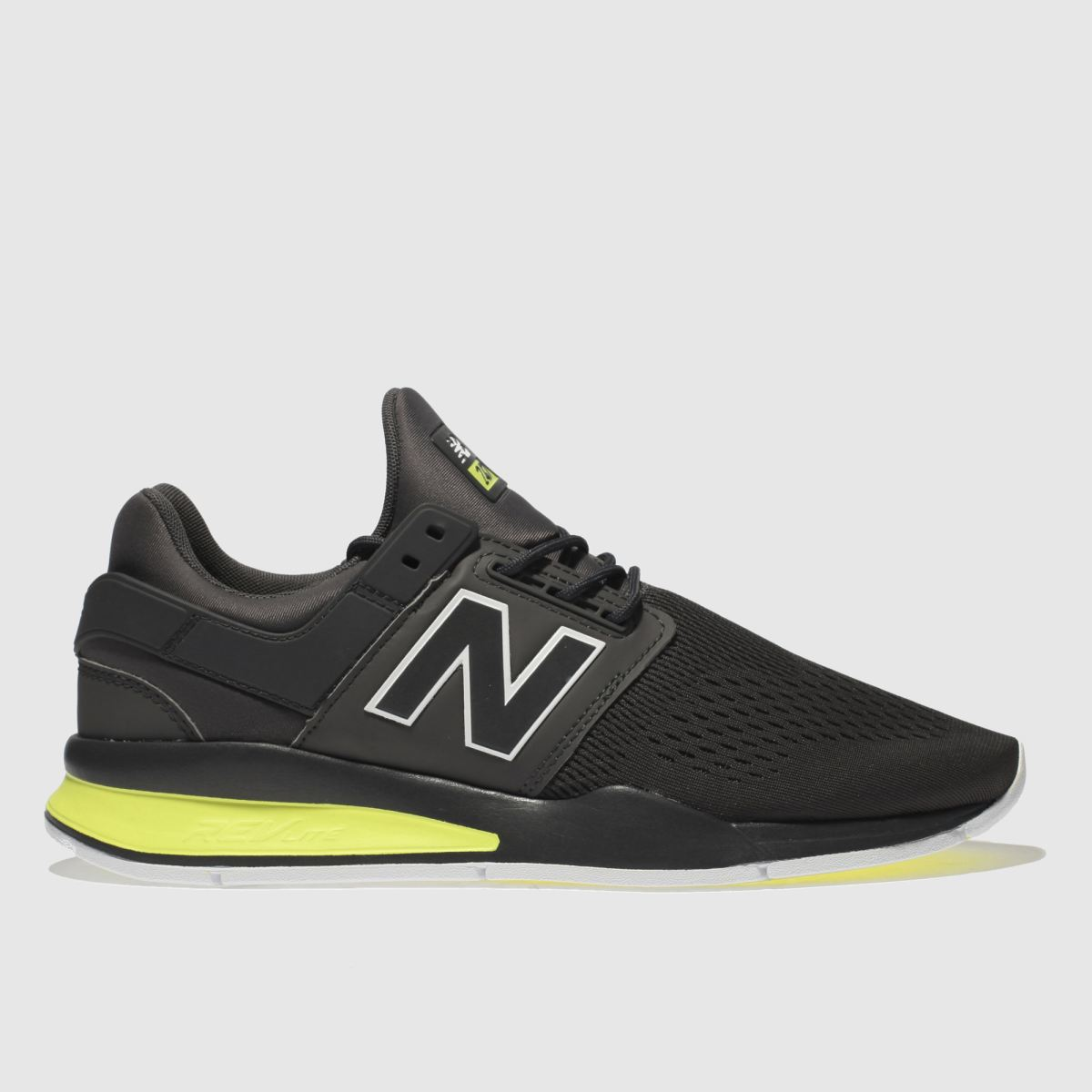 New Balance Dark Grey 247 V2 Trainers