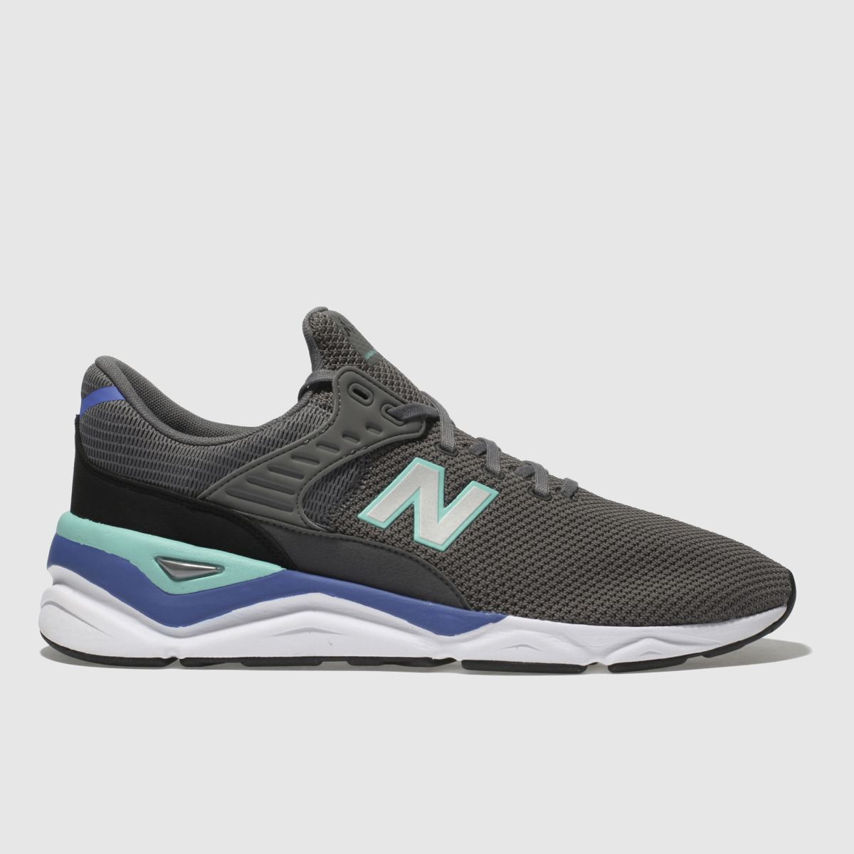 New Balance Dark Grey X-90 Trainers