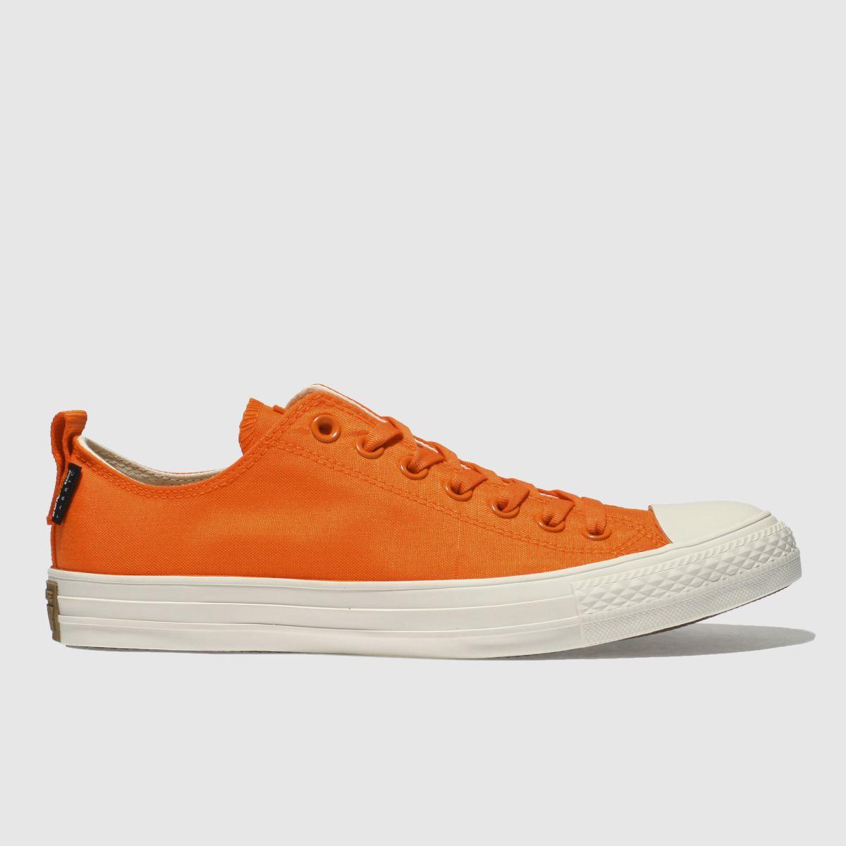 Converse Orange All Star Ox Cordura Trainers