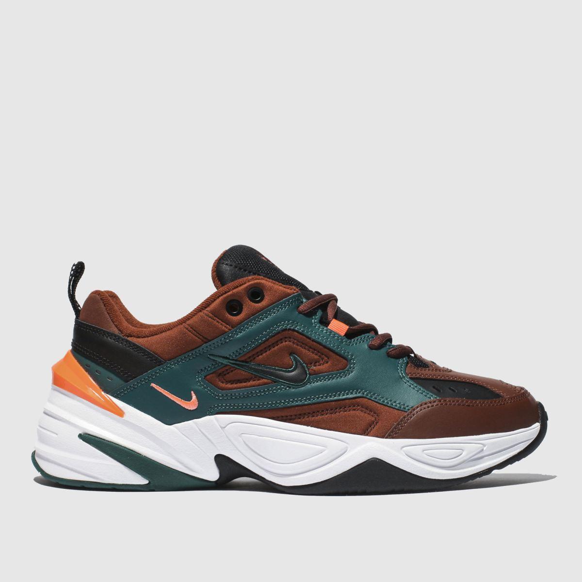 Nike Brown M2k Tekno Trainers