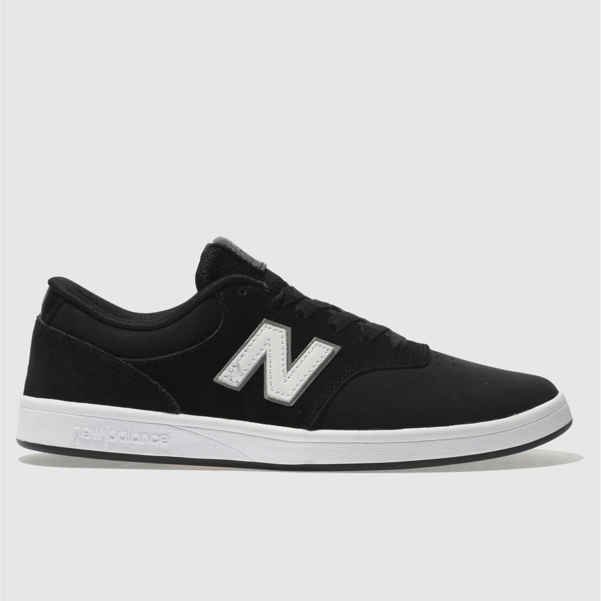 New Balance Black & White All Coasts 424 Trainers