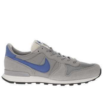 Nike Grey Internationalist Mens Trainers