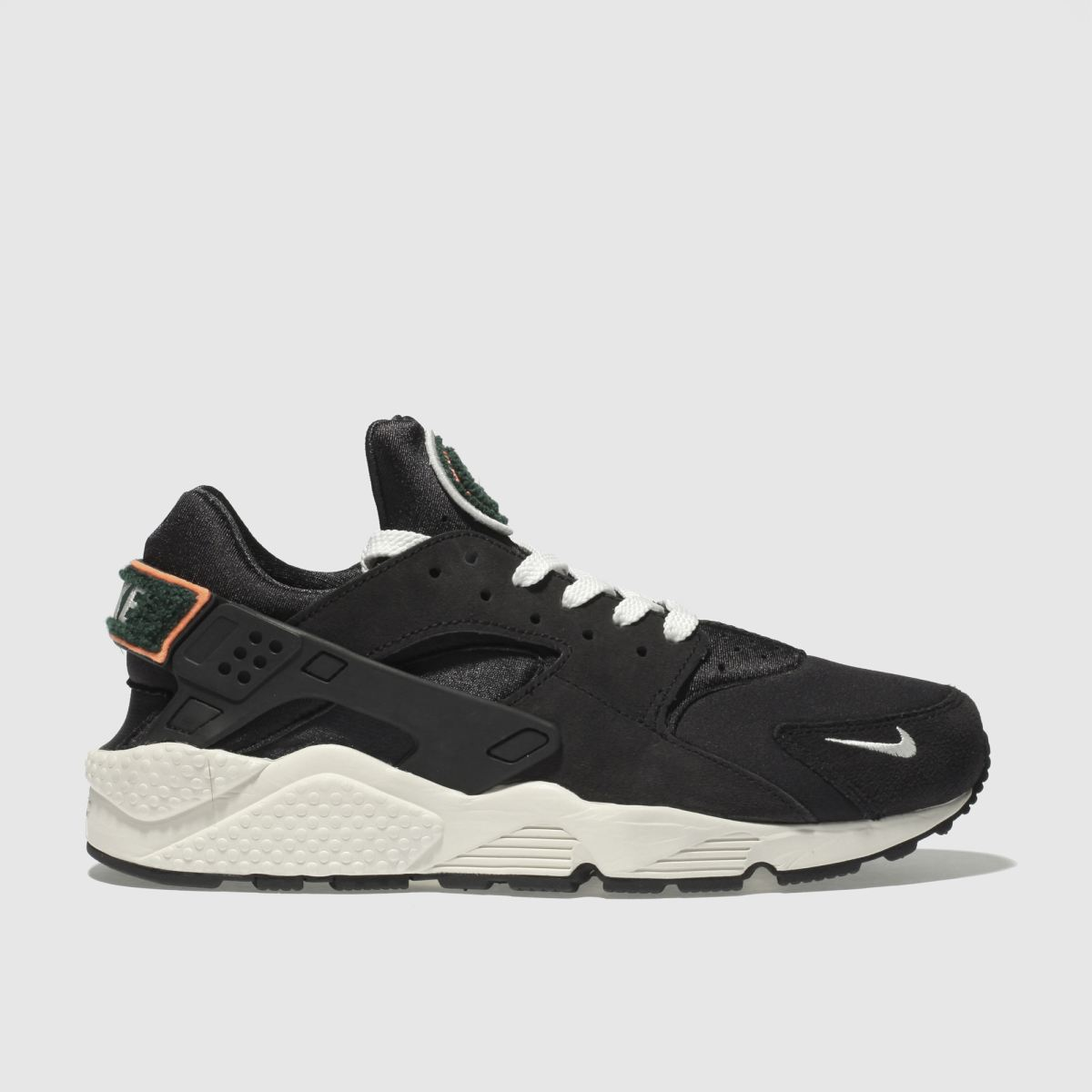 Nike Black Air Huarache Run Premium Trainers