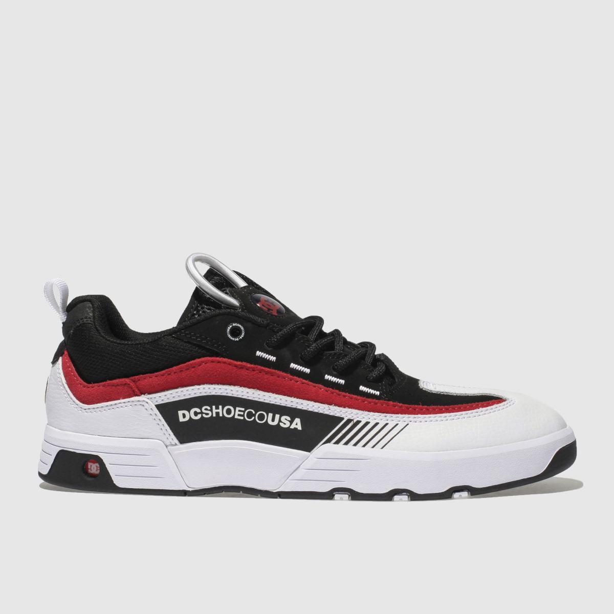 dc shoes Dc Shoes Black & White Legacy 98 Slim Trainers