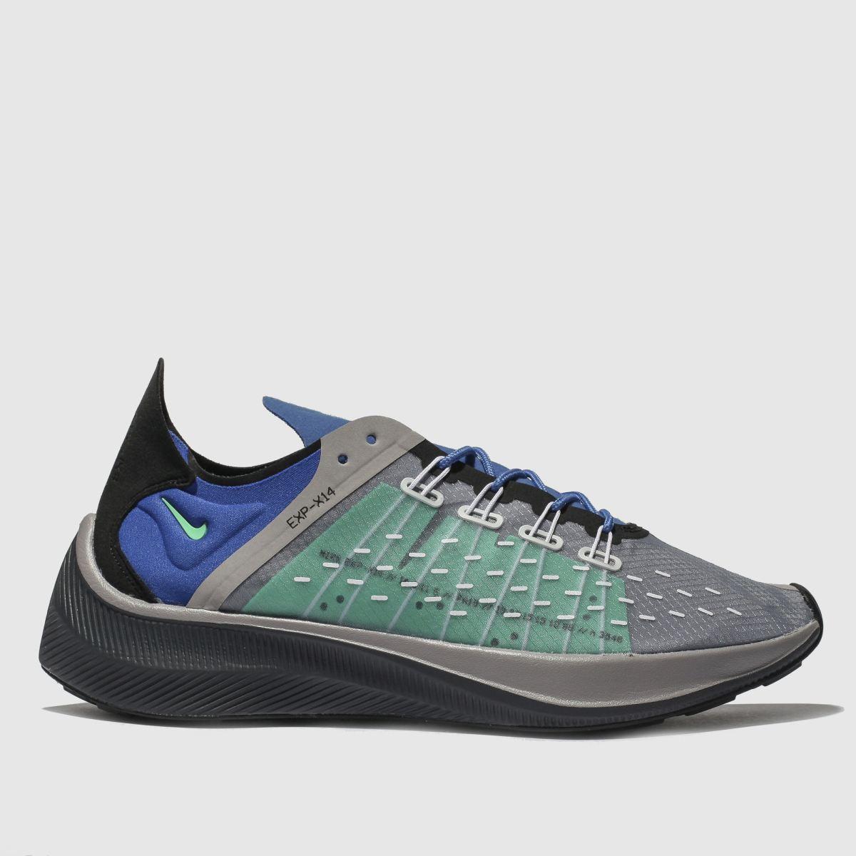 Nike Blue Exp-x14 Trainers