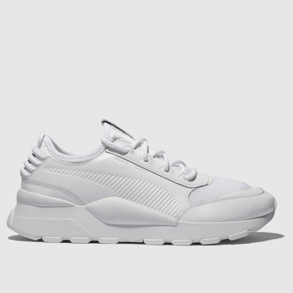 Puma White Rs-0 Trainers