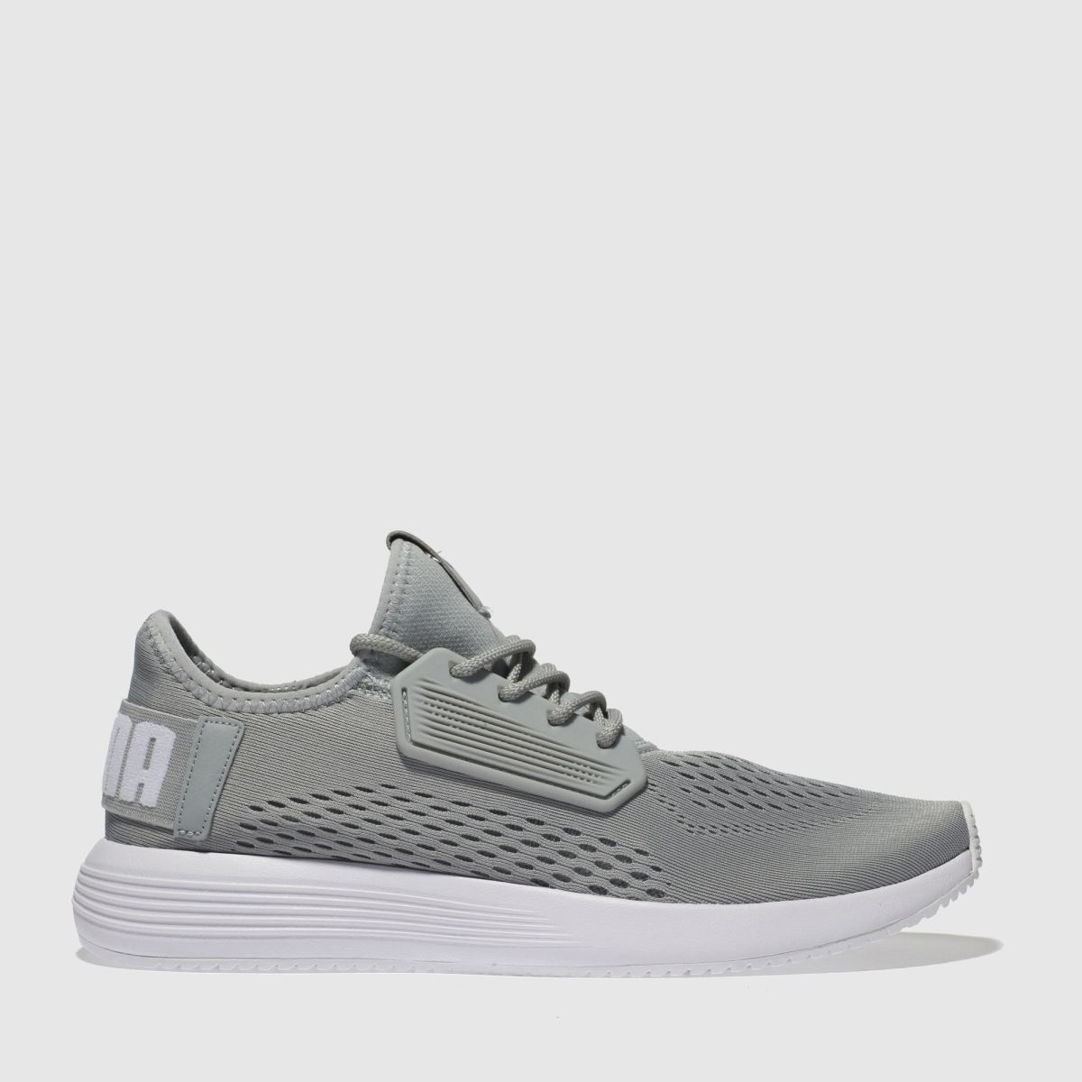 Puma Grey Uprise Trainers