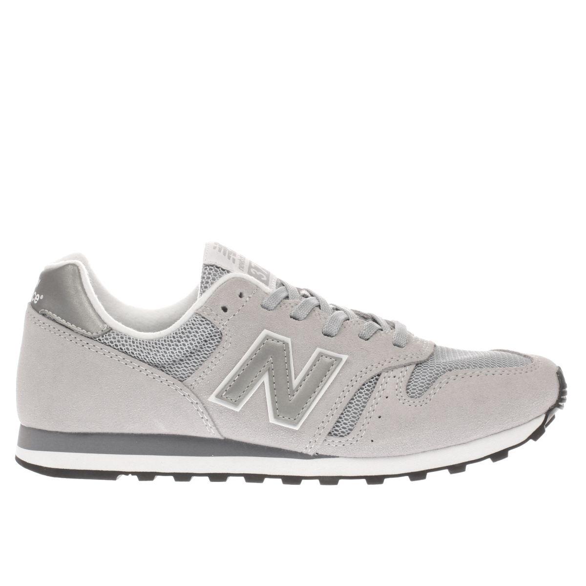 new balance grey 373 trainers