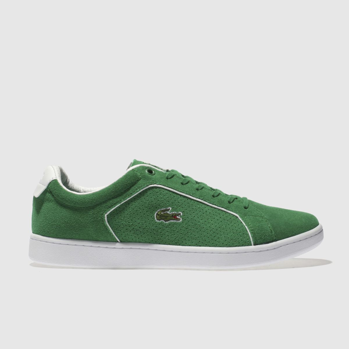 Lacoste Green Carnaby Evo Trainers