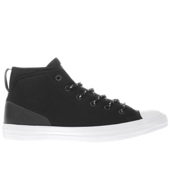 Converse Black All Star Syde Street Mid Mens Trainers