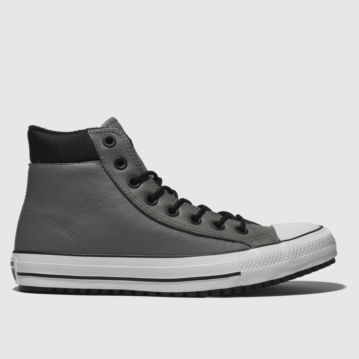 Converse Grey & Black All Star Boot Pc Hi Trainers