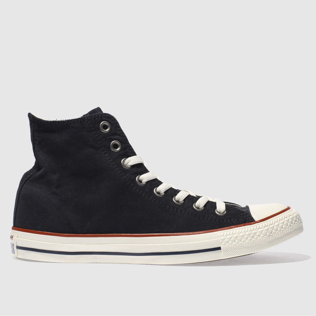 converse black all star ombre wash hi trainers