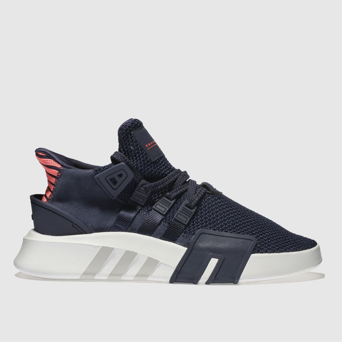 Adidas Navy Eqt Bask Adv Trainers