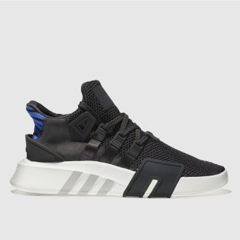 Adidas Grey Eqt Bask Adv Mens Trainers