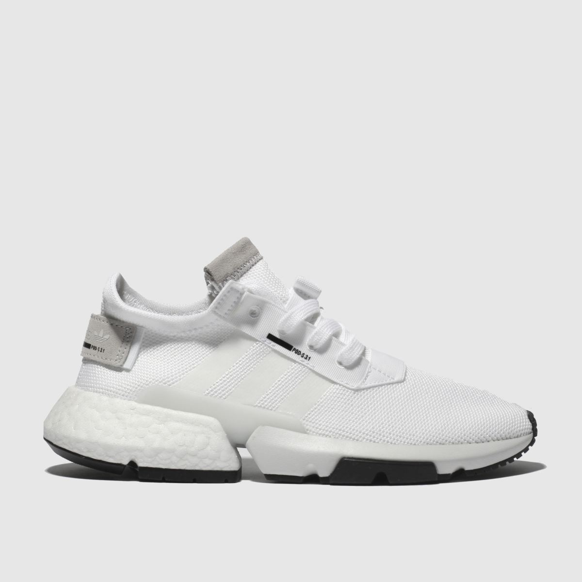 Adidas White Pod S3.1 Trainers