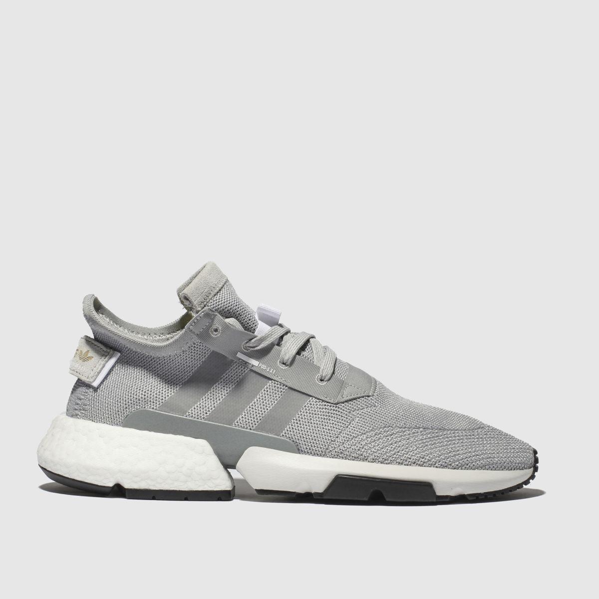 Adidas Light Grey Pod S3.1 Trainers