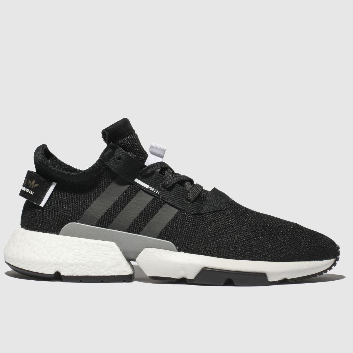 Adidas Black & White Pod S3.1 Trainers