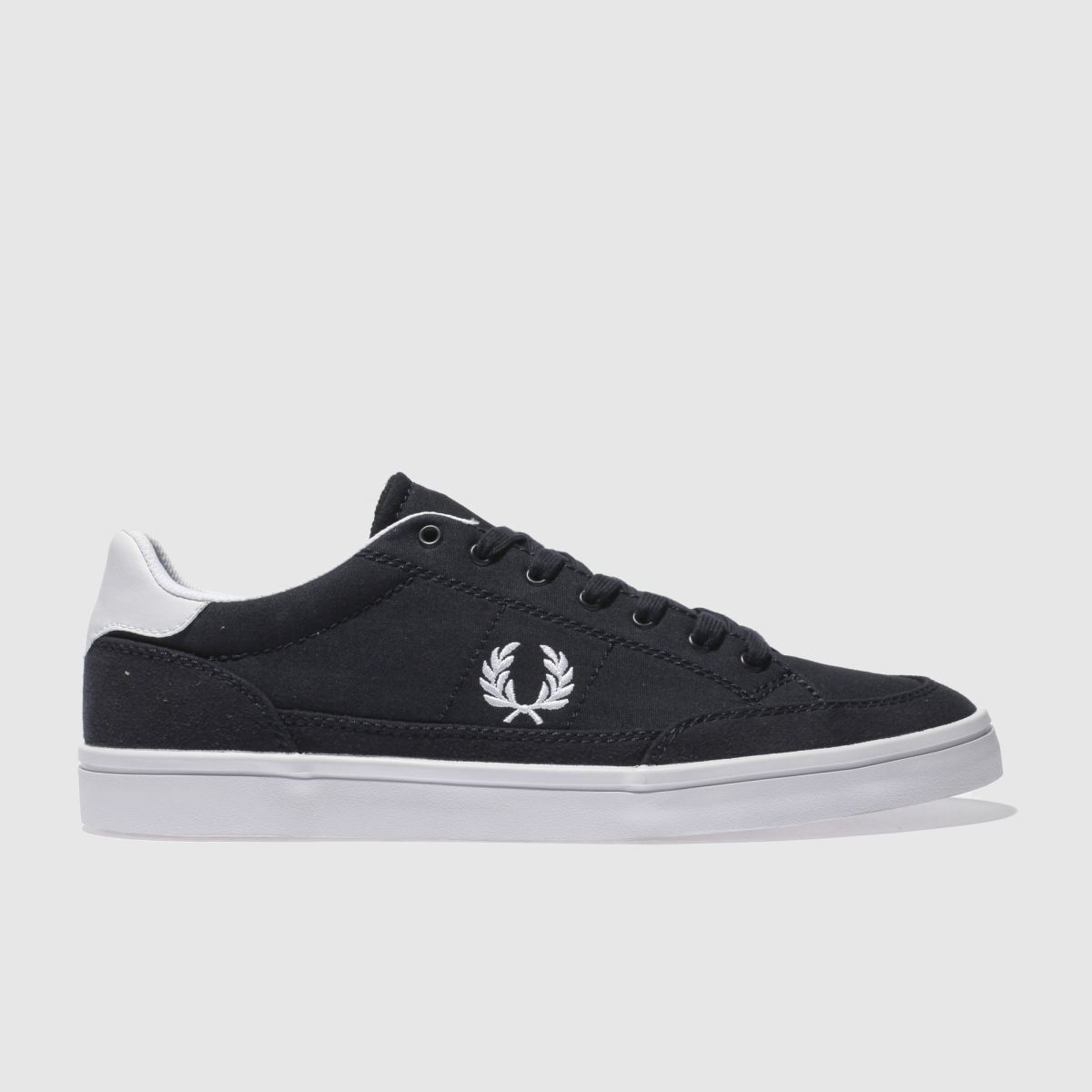 Fred Perry Navy Deuce Trainers