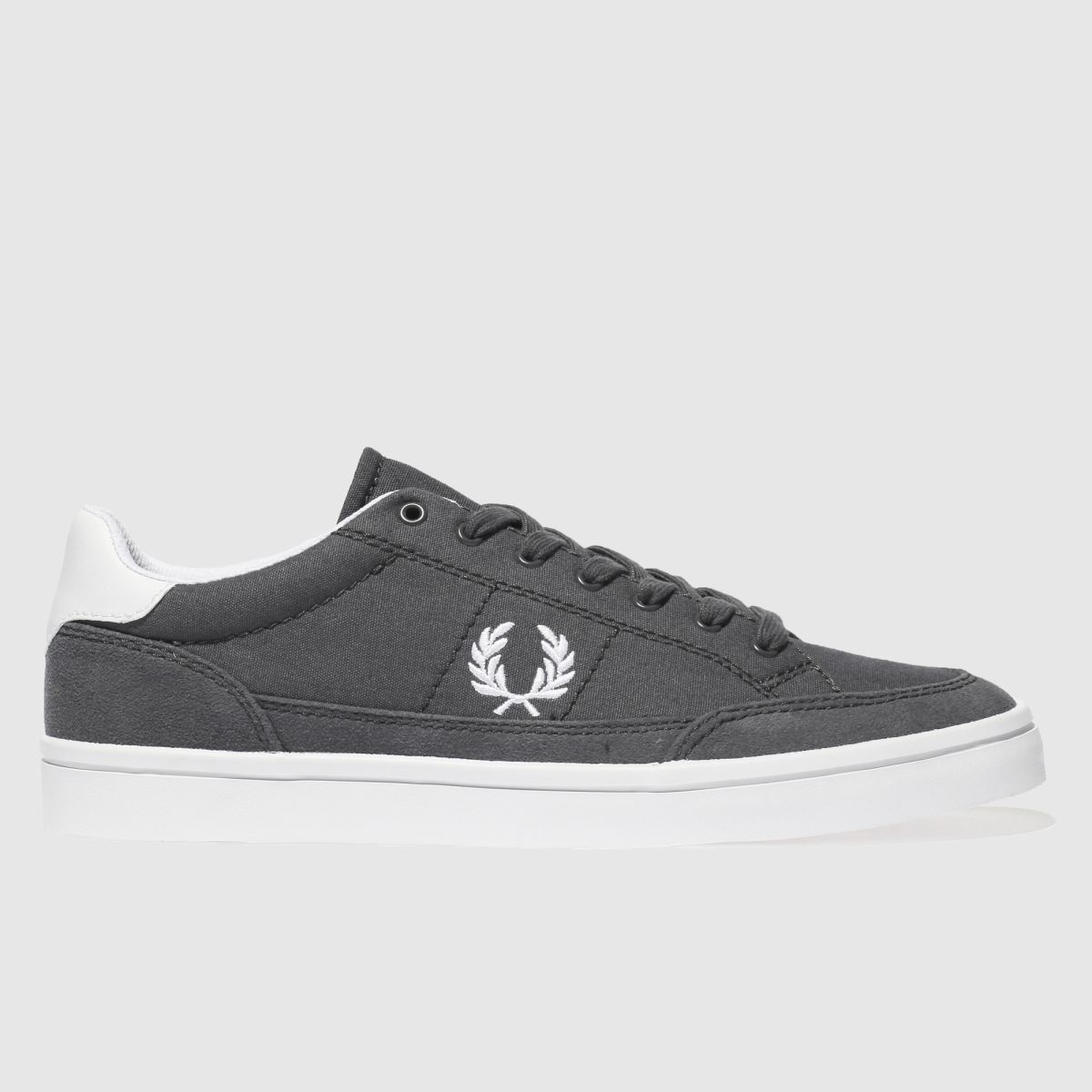 Fred Perry Dark Grey Deuce Trainers