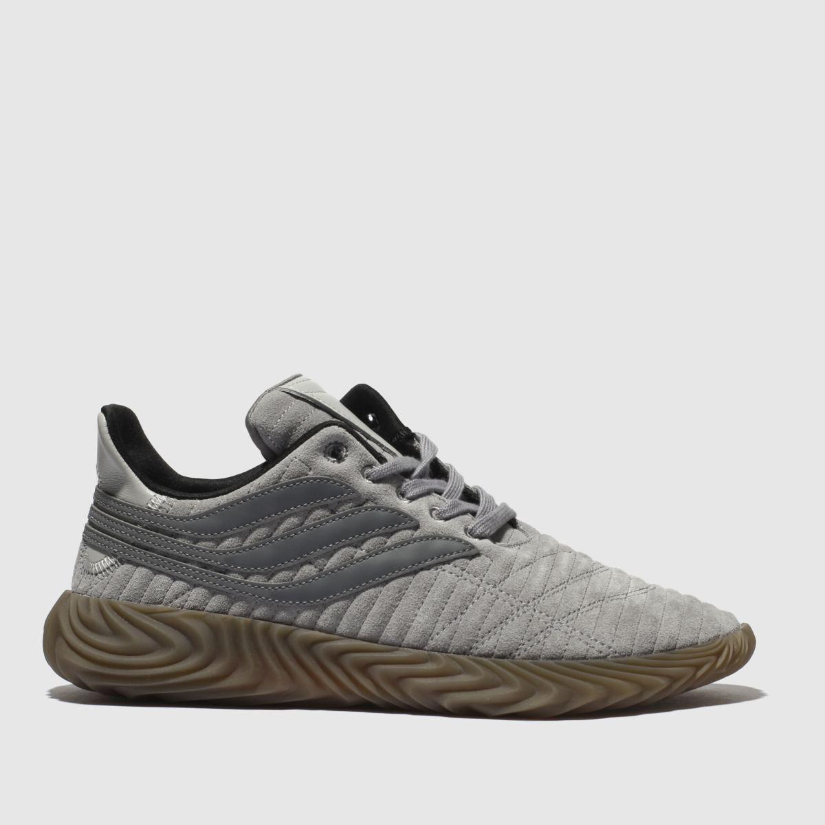 Adidas Light Grey Sobakov Trainers