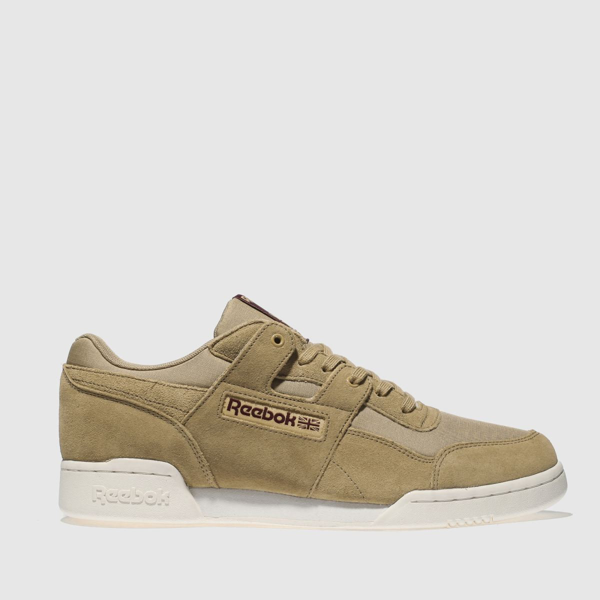 Reebok Tan Workout Plus Ripstop Trainers