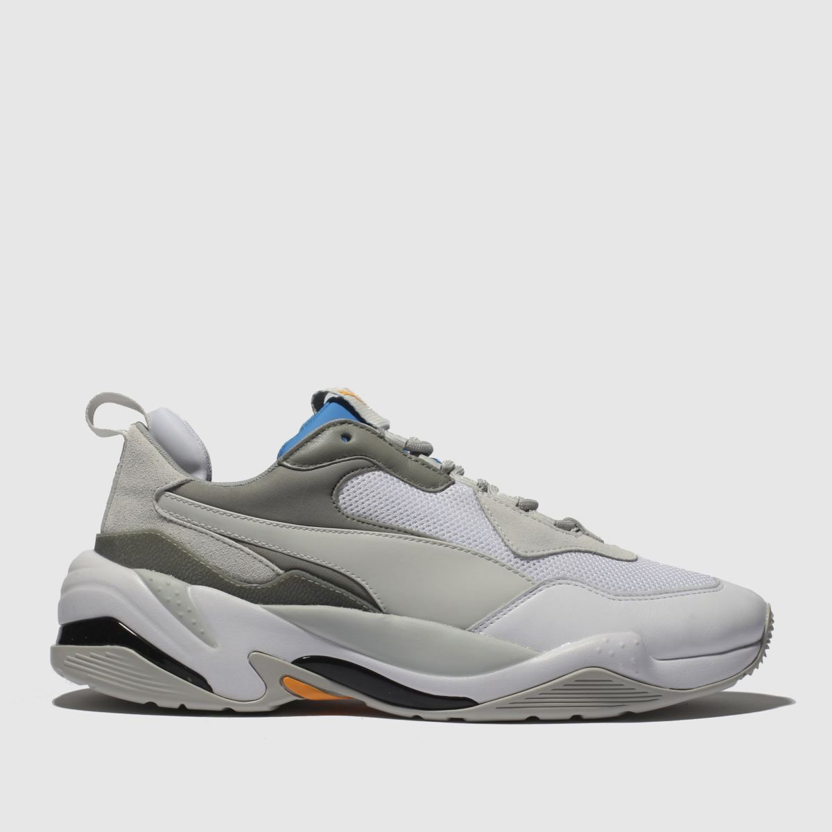Puma Light Grey Thunder Spectra Trainers