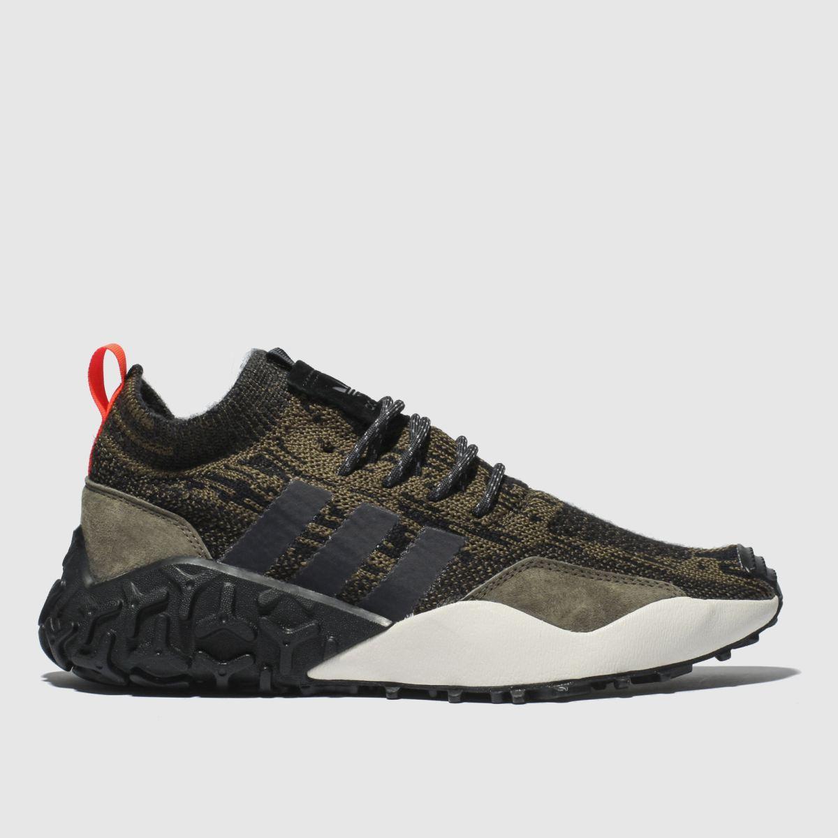 Adidas Brown F/2 Tr Primeknit Trainers