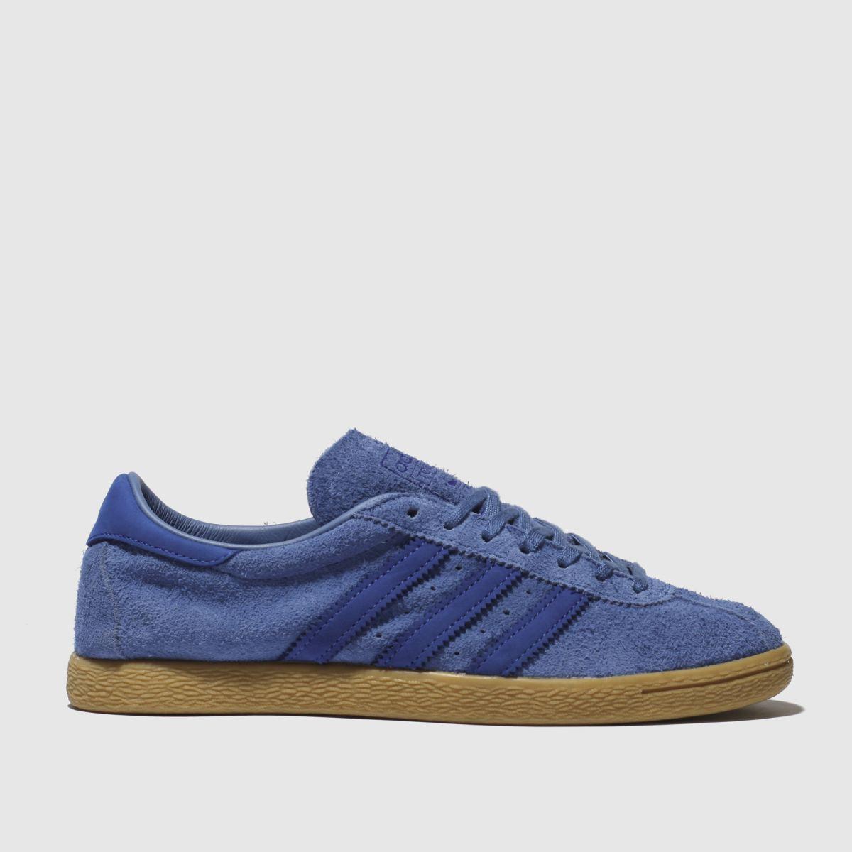 Adidas Blue Tobacco Trainers