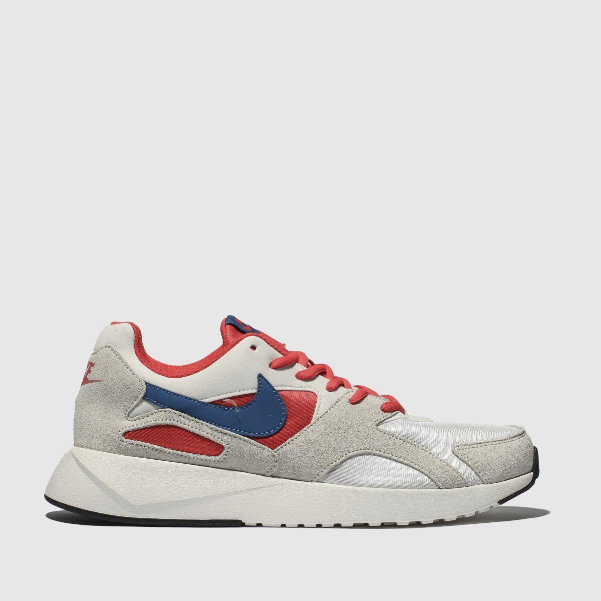 Nike White & Orange Pantheos Trainers