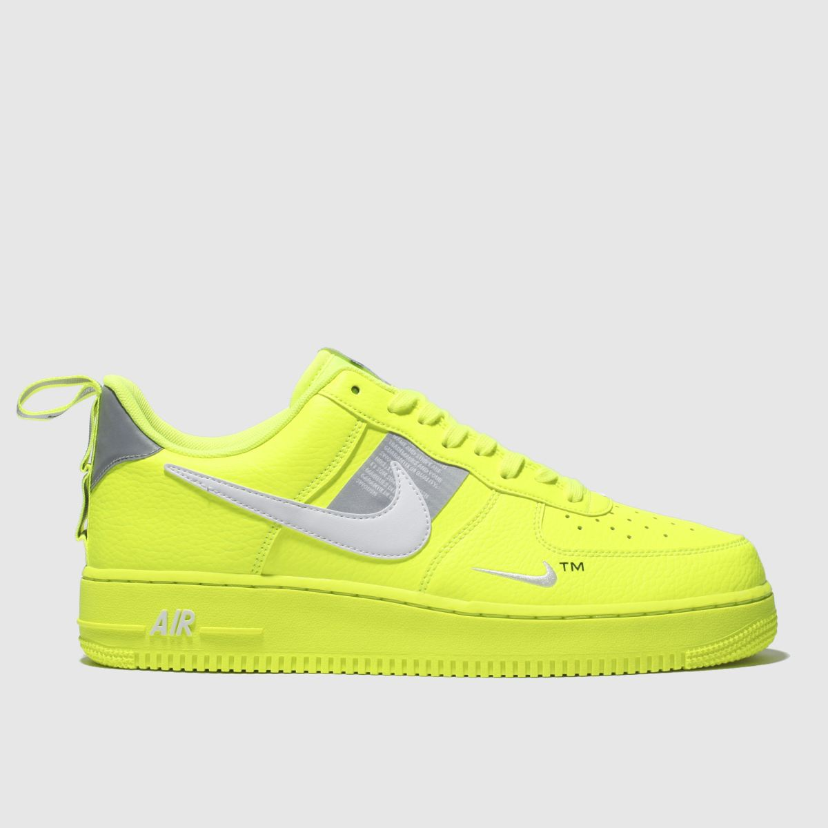 Nike Yellow Air Force 1 07 Lv8 Utility Trainers