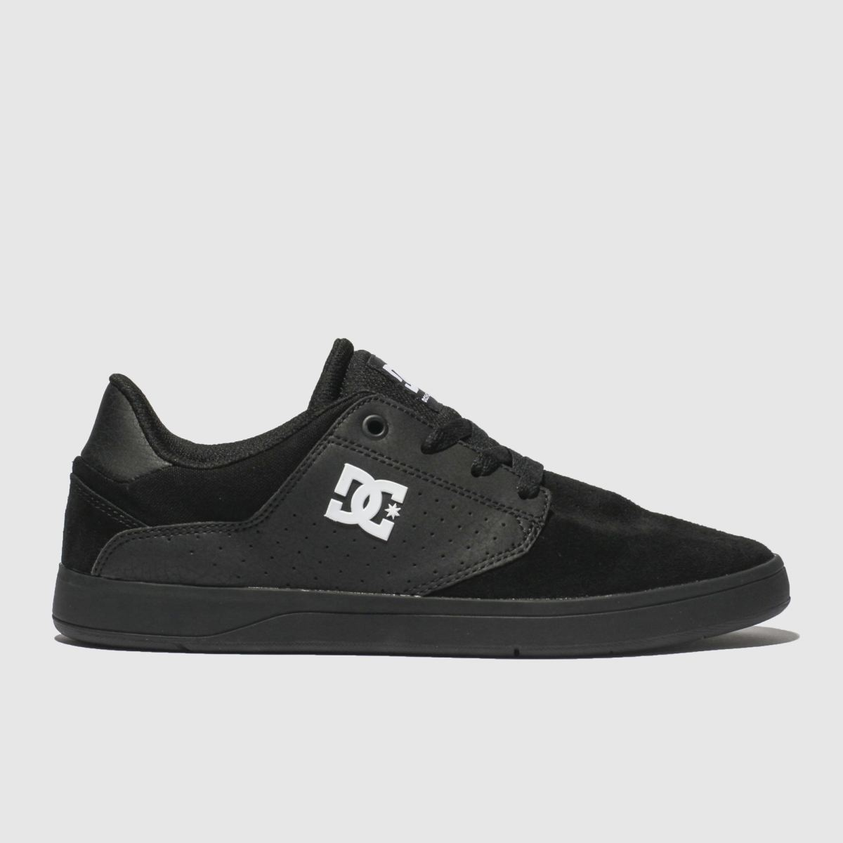 Dc Shoes Black & White Plaza Tc Trainers