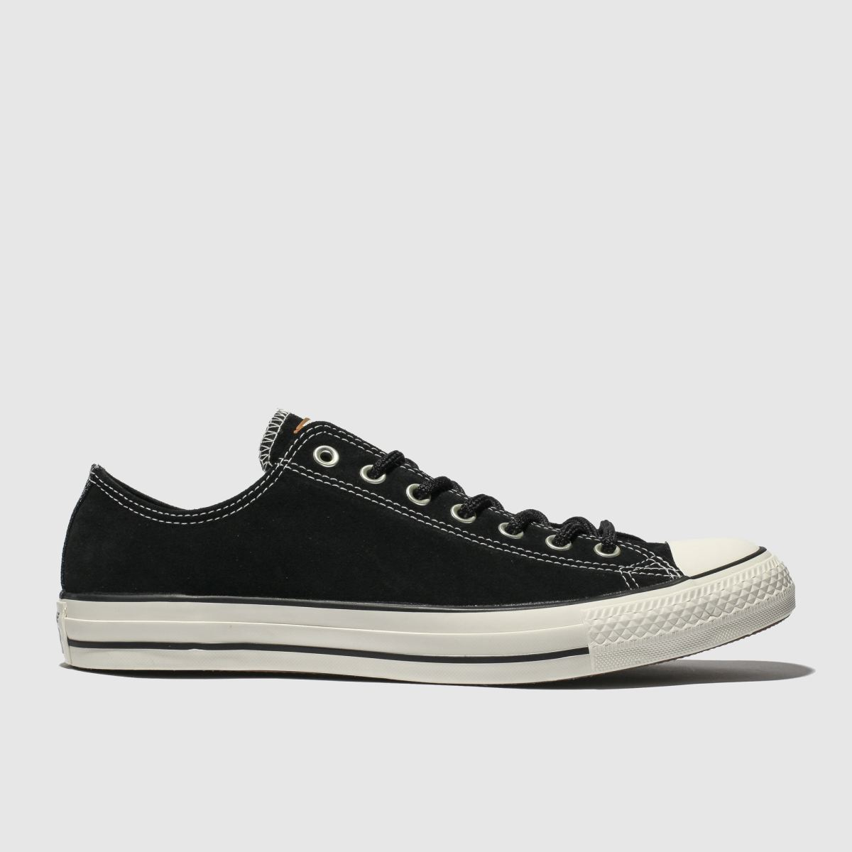 Converse Black All Star Base Camp Ox Trainers