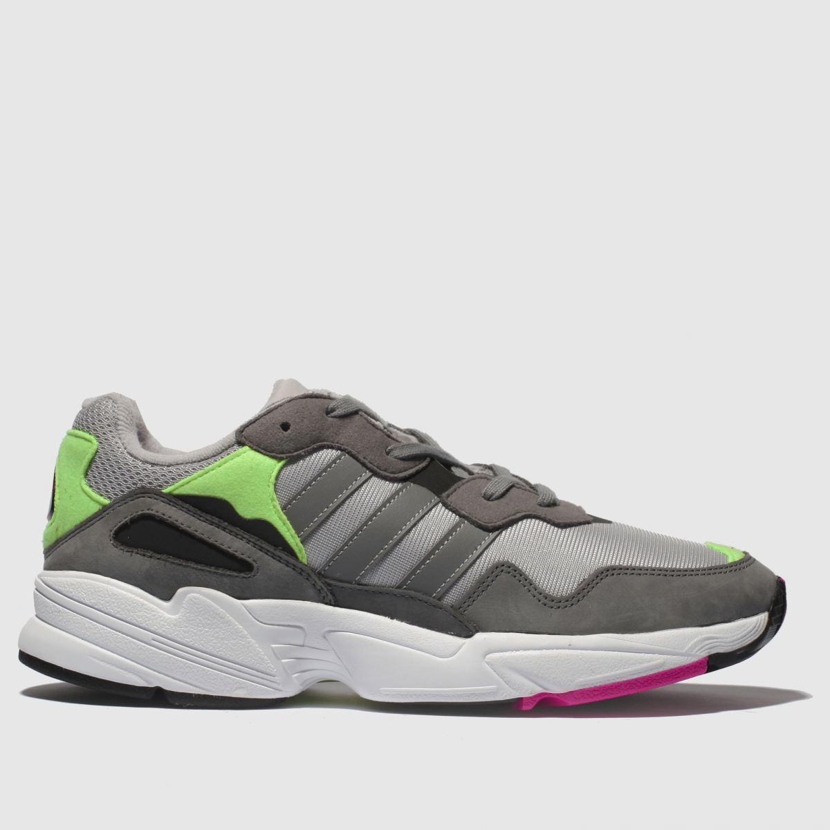 Adidas Grey Yung 96 Trainers