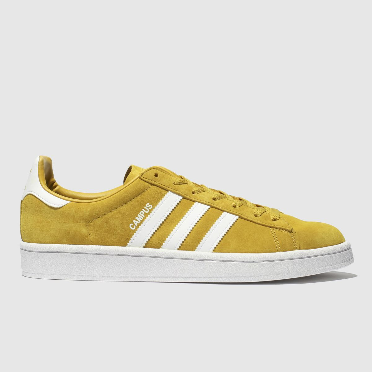 Adidas Yellow Campus Trainers