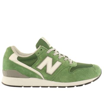 Mens New Balance Green 996 Trainers